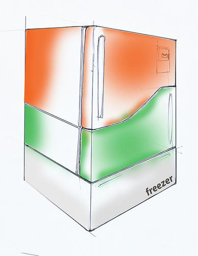 Модульный холодильник Electrolux. Изображение № 4.