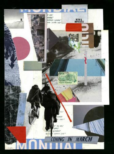 Клей, ножницы, бумага: 10 современных художников-коллажистов. Изображение № 35.