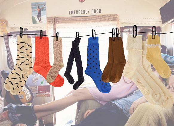 Тянем носок: Носки в осенне-зимних коллекциях. Изображение № 72.