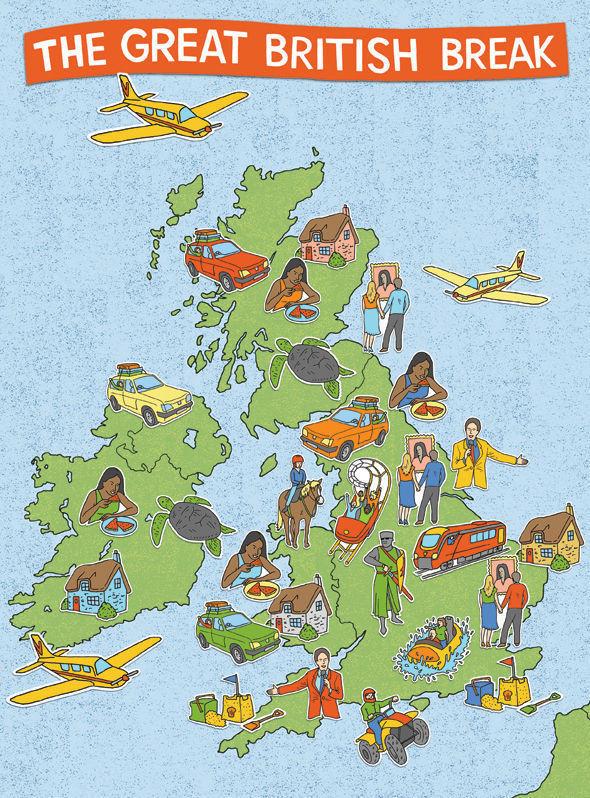 Карта Великобритании. Изображение № 3.