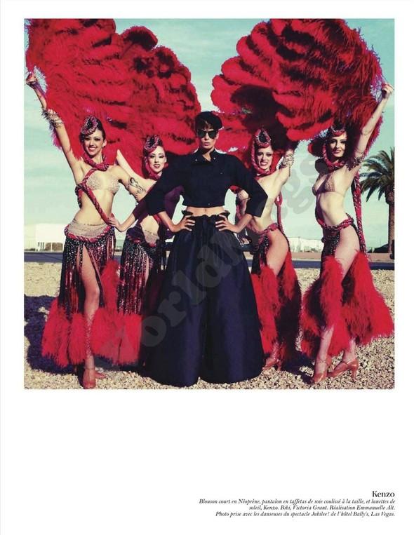 Съёмка: Дарья Вербова для французского Vogue. Изображение № 24.