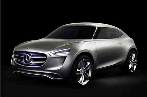Mercedes-Benz показала концепт-кар на солнечных батареях . Изображение № 1.