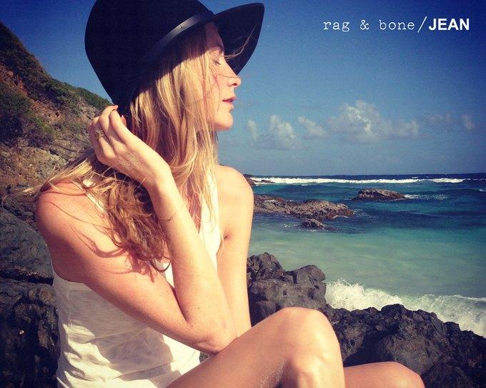 Камила Роу сняла Поппи Делевинь для Rag & Bone. Изображение № 12.