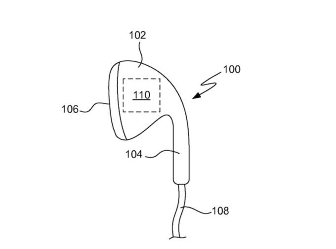 Apple запатентовала смарт-наушники для занятий спортом . Изображение № 4.