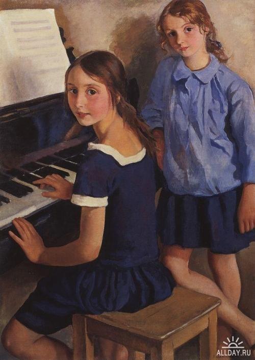 Музыка в живописи. Изображение № 8.