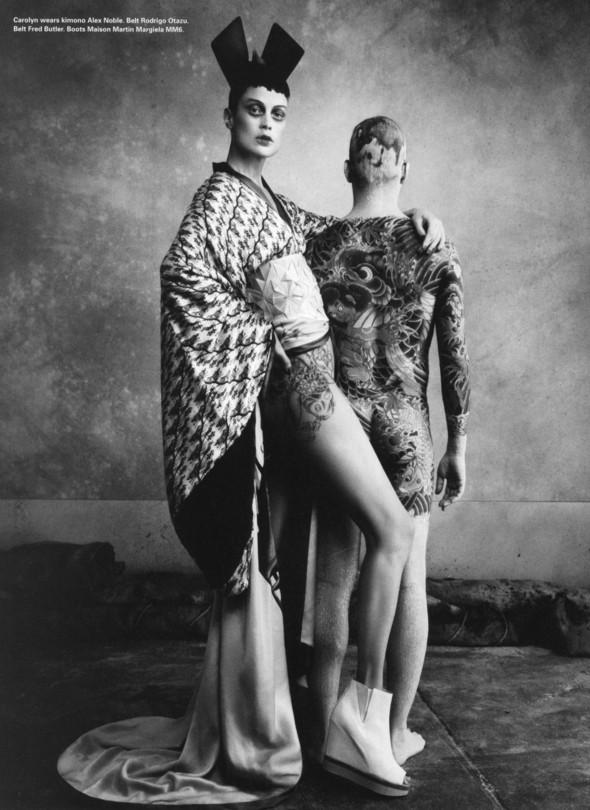 Съёмки: Elle, i-D и Vogue. Изображение № 11.