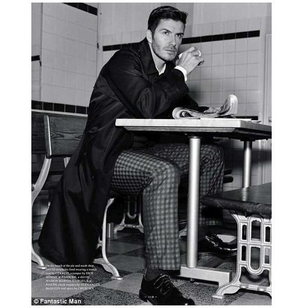 Изображение 2. Дэвид Бекхэм снялся для обложки Fantastic Man.. Изображение № 2.