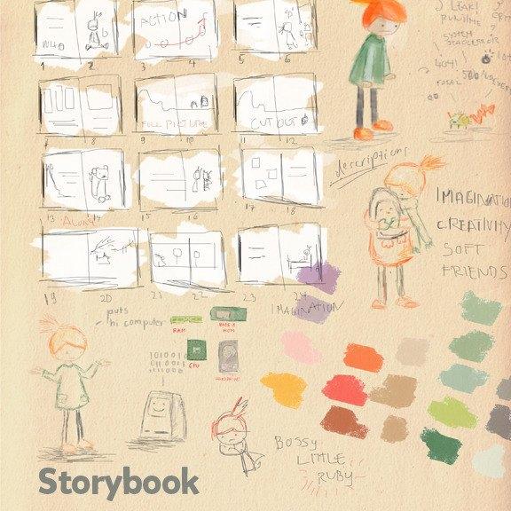 Детская книжка о Ruby собрала $200 тысяч на Kickstarter. Изображение № 5.
