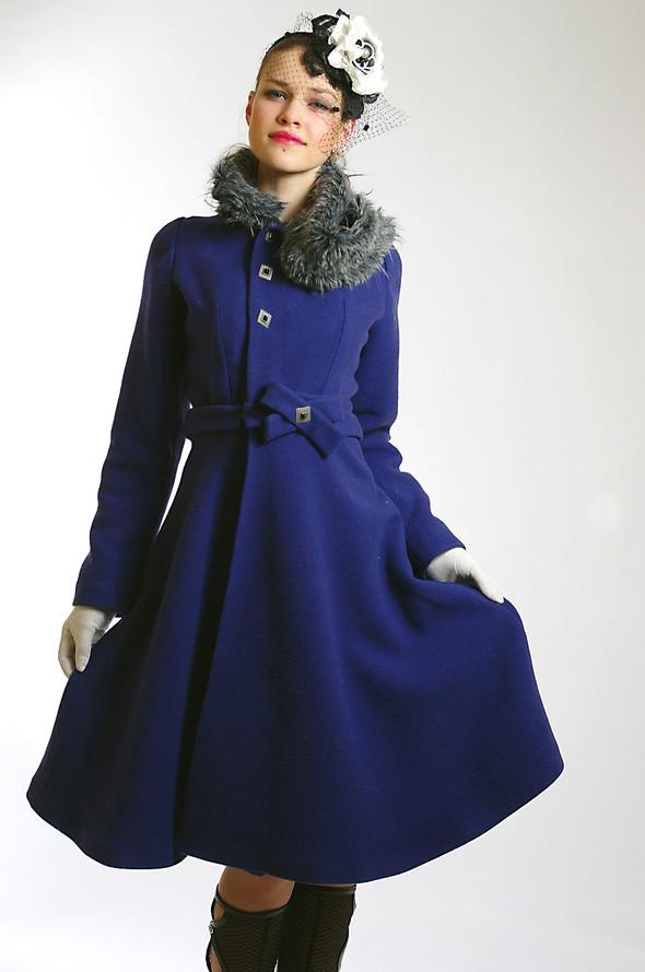 Изображение 6. Пальто от Diana Pavlovskaya: женственная весна!.. Изображение № 7.