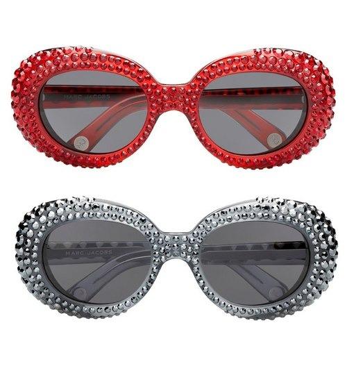 Марк Джейкобс создал очки со Swarovski. Изображение № 1.