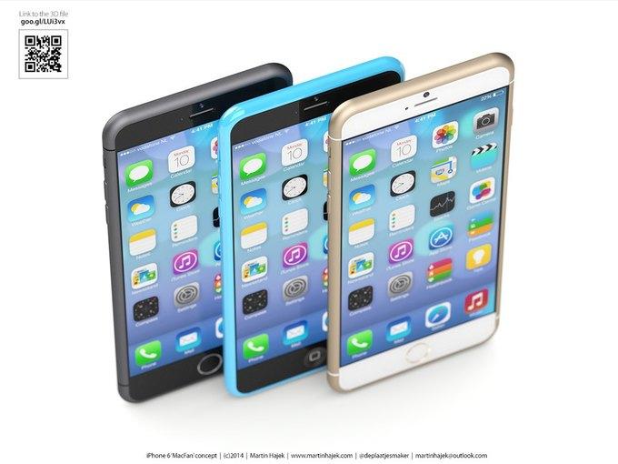 Дизайнер создал концепты iPhone 6s и 6c на основе «слива» из японского журнала. Изображение № 12.