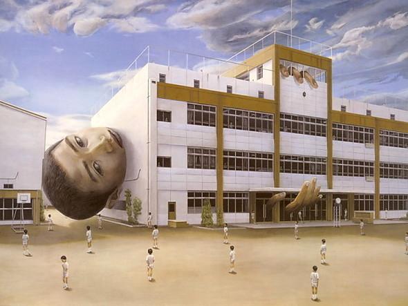 Творчество японского сюрреалиста Tetsuya Ishida. Изображение № 18.
