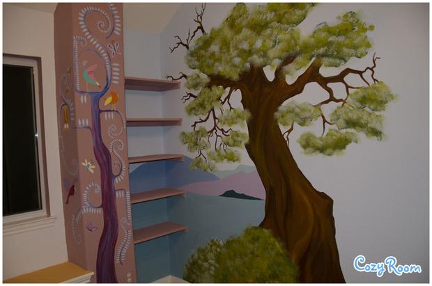 Детская комната по мотивам мультфильма «Рапунцель. Запутанная история». Изображение № 3.