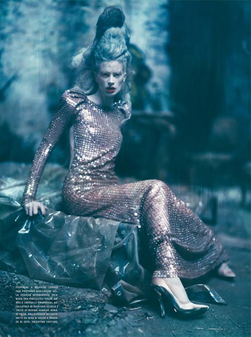 Архивная съёмка: Кристен МакМенами для Vogue Italia, сентябрь 2010. Изображение № 13.