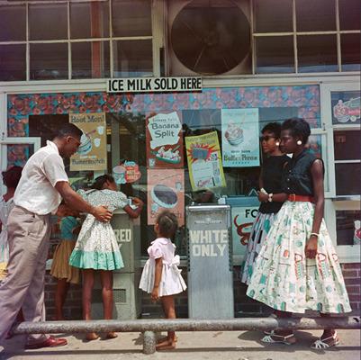 Белый против черного: Расовая сегрегация в Америке 50-х. Изображение № 8.