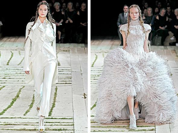 Последние показы на неделе моды в Париже. Изображение № 2.
