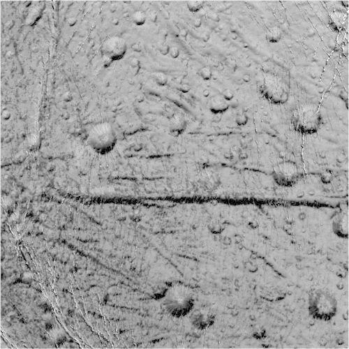 Фото дня: Северный полюс Энцелада . Изображение № 3.