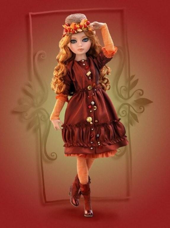 Изображение 1. Эллоувайн - fashion-кукла, ведущая блог.. Изображение № 3.