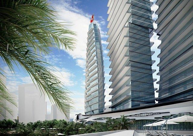 Российский архитектор показал больницу-небоскрёб в виде яхты. Изображение № 11.