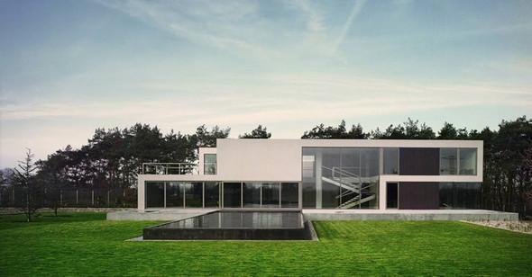 Aatrial House — дом-«вытынанка». Изображение № 6.