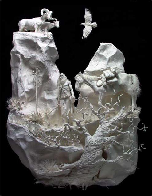Бумажные скульптуры. Изображение № 12.