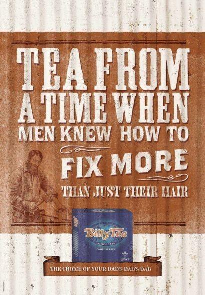 Чай из тех времен, когда мужчина мог подправить не только свои волосы. Изображение № 14.