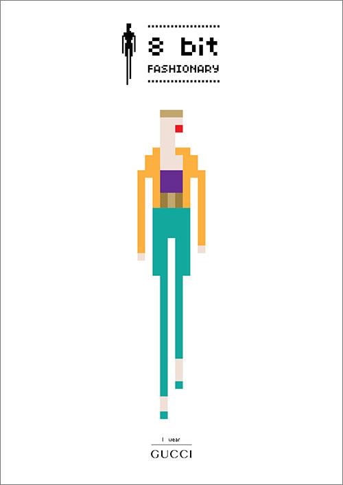 8 bit Fashionary / 8 Модных бит. Изображение № 9.