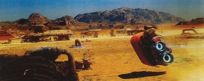 В Сеть выложили 32 концепт-арта для «Звёздных войн VII». Изображение № 9.