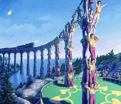 Amazing pictures by Rob Gonsalves. Изображение № 11.