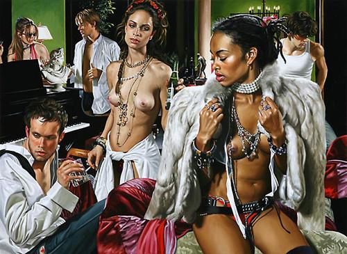 Изображение 2. Терри Роджерс выбрал для своего творчества тему молодежных фетишей: желание во всех ее переизбытках.. Изображение № 2.