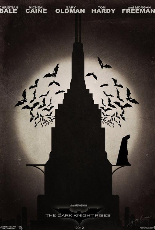 Фан-постеры «Темного рыцаря: Возрождение Легенды». Изображение № 6.