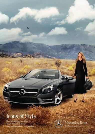 Супермодель Лара Стоун стала новым лицом Mercedes-Benz. Изображение № 3.