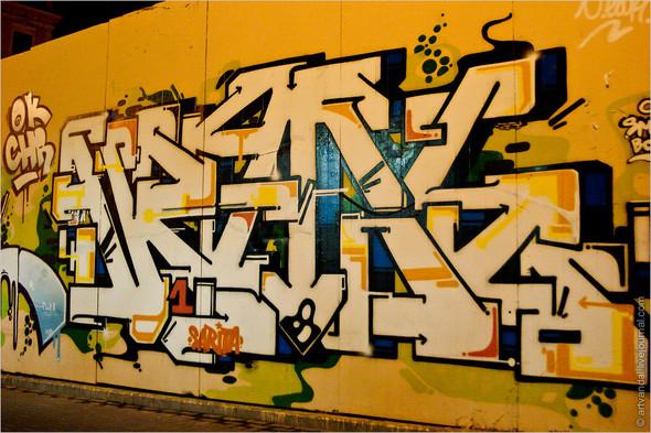 Стрит-арт и граффити Валенсии, Испания. Изображение № 54.