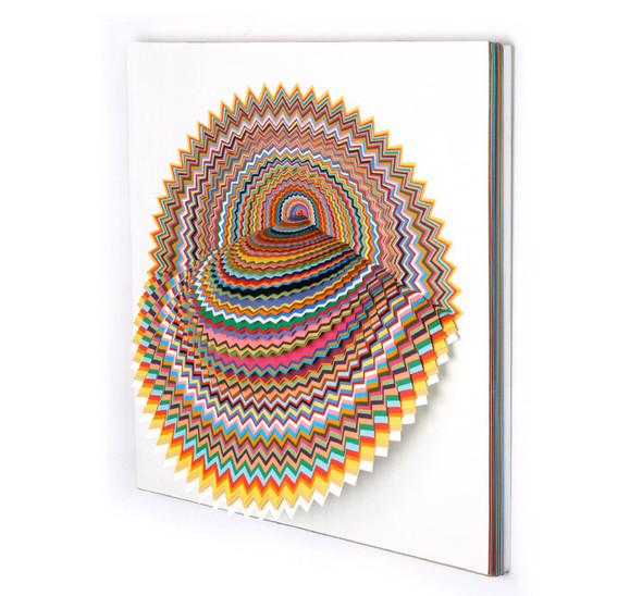 Абстракция из цветной бумаги. Изображение № 12.