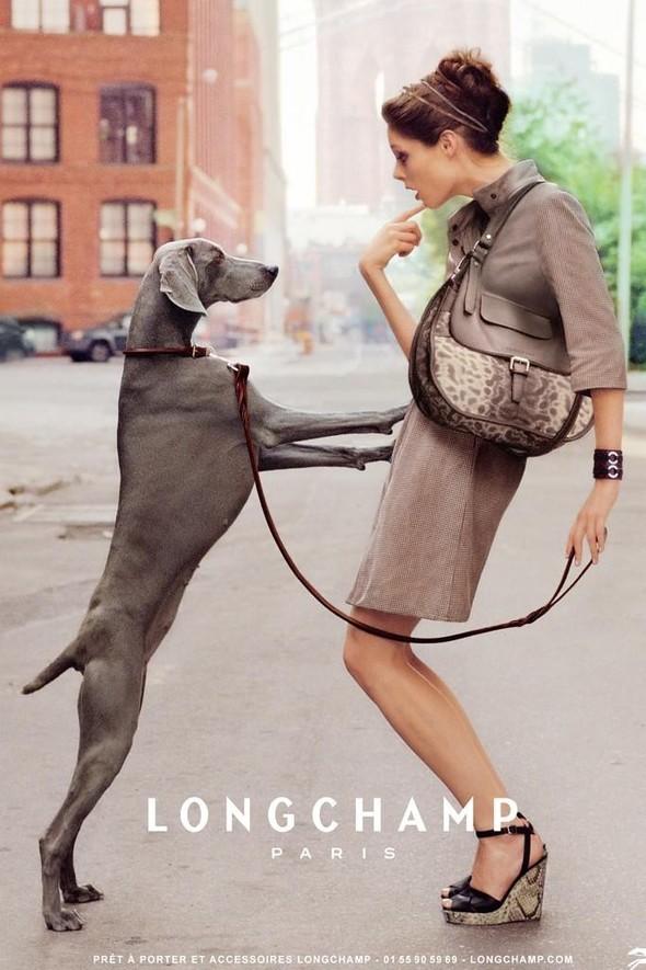 Превью кампании: Коко Роша для Longchamp. Изображение № 1.
