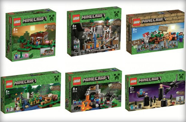 Российский магазин «слил» в Сеть новые наборы Lego Minecraft . Изображение № 8.