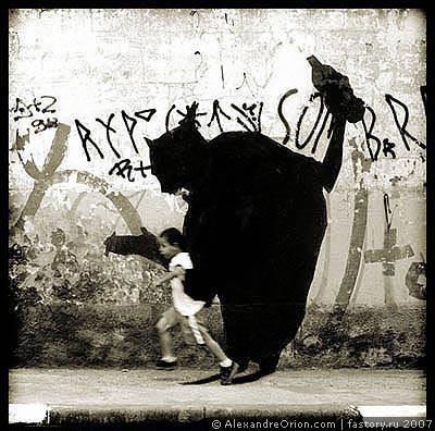 Граффити Александрэ Ориона. Изображение № 2.