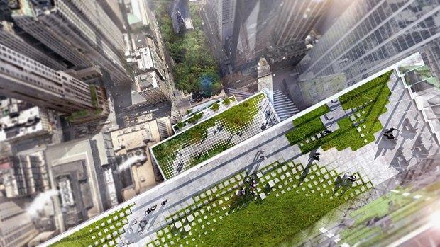 Представлен проект третьей повысоте башни Манхэттена. Изображение № 11.