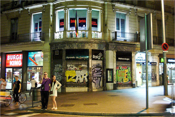 Стрит-арт и граффити Барселоны, Испания. Изображение № 19.