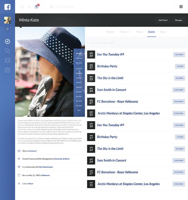 Редизайн дня: полностью новая веб-версия Facebook. Изображение № 25.