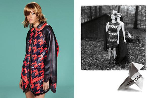 Изображение 3. Рекламные кампании: Lanvin, Prada, Balenciaga и другие.. Изображение № 30.