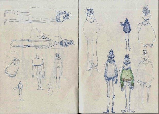 Анимация: бродяга спасает пса встимпанковском городе. Изображение № 13.