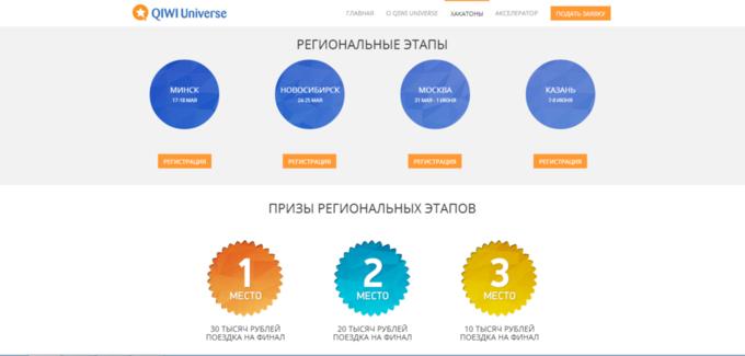 Qiwi и Бизнес-инкубатор МГУ запустили стартап-акселератор . Изображение № 2.