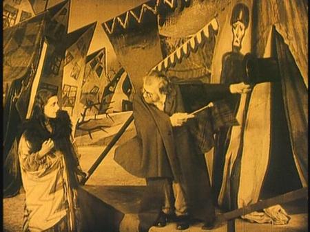 «Кабинет доктора Калигари»Роберт Вине. триллер, 1919. Изображение № 17.