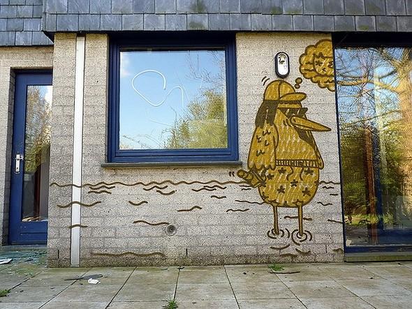Стрит-арт в Париже. Изображение № 8.