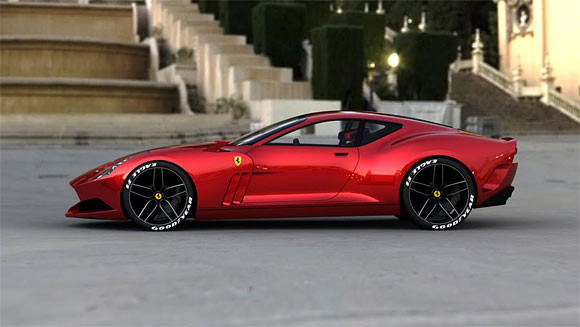 Ferrari GTO. Проект Саши Селипанова. Изображение № 6.