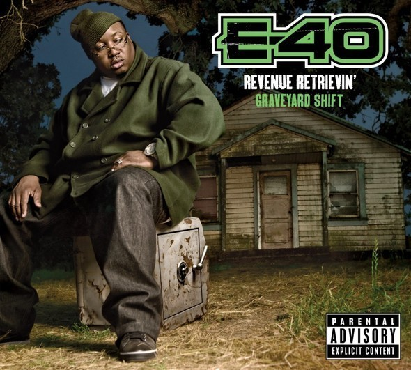 Изображение 5. E-40 - Revenue Retrievin' Overtime ShiftGraveyard Shift.. Изображение № 5.