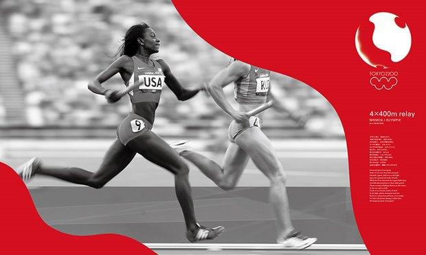 Кения Хара предложил логотип и айдентику для Олимпиады в Токио. Изображение № 9.