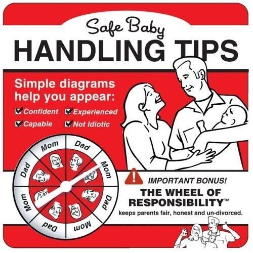 Инструкция поэксплуатации младенца. Изображение № 1.