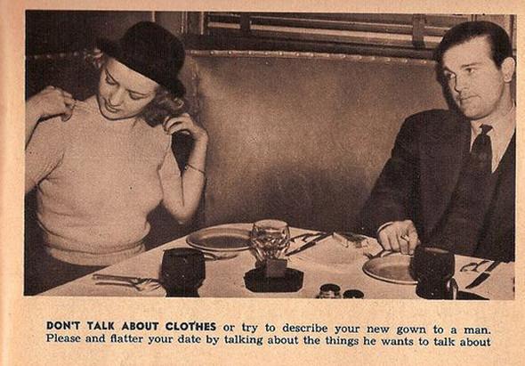 Как завоевать мужчину, вырезки из журнала 1938 года. Изображение № 10.